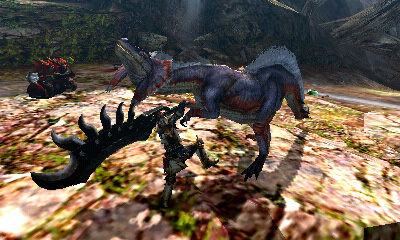 обзор monster hunter 3ds