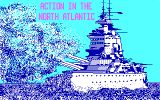 [Скриншот: Action in the North Atlantic]
