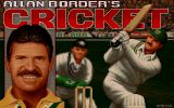 [Скриншот: Allan Border's Cricket]