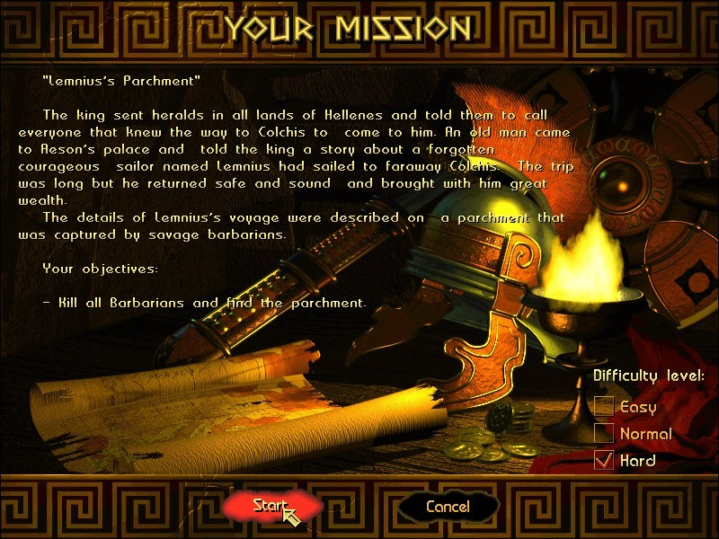 Скриншоты Ancient Conquest: Quest for the Golden Fleece на