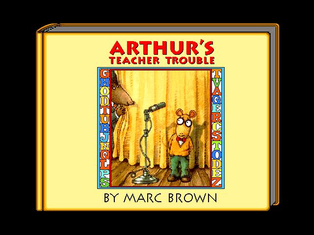 arthurs teacher trouble coloring pages - photo#30