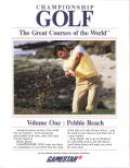 Championship Golf: The Great Courses of the World. Volume One: Pebble Beach