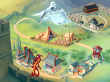 [Disney's Mulan Animated Storybook: A Story Waiting For You To Make It Happen - скриншот №6]