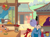 [Disney's Mulan Animated Storybook: A Story Waiting For You To Make It Happen - скриншот №8]