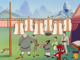 [Disney's Mulan Animated Storybook: A Story Waiting For You To Make It Happen - скриншот №16]