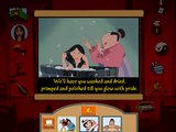 [Disney's Mulan Animated Storybook: A Story Waiting For You To Make It Happen - скриншот №24]