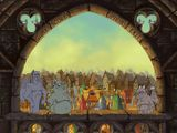 [Скриншот: Disney's The Hunchback of Notre Dame: Topsy Turvy Games]