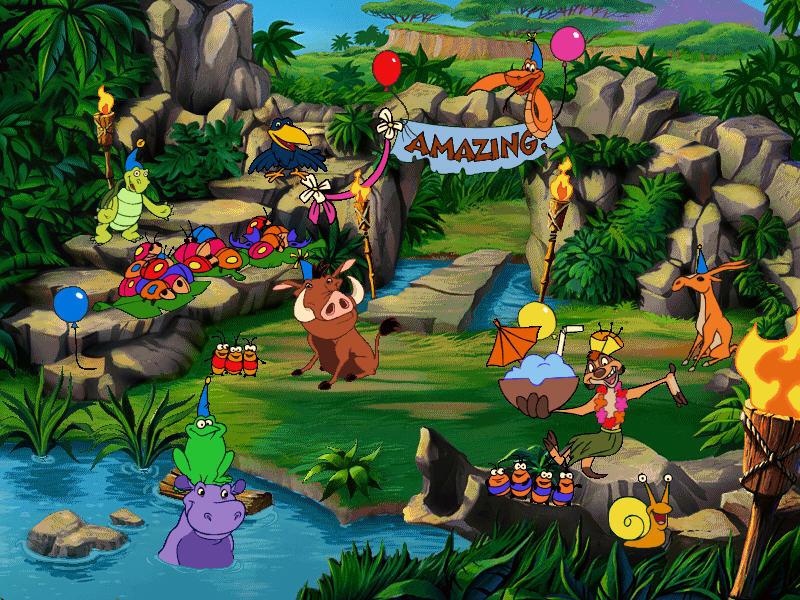 Игру Тимон И Пумба Jungle Games