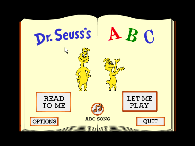 Dr. Seusss ABC Game