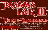 [Dragon's Lair III: The Curse of Mordread - скриншот №1]