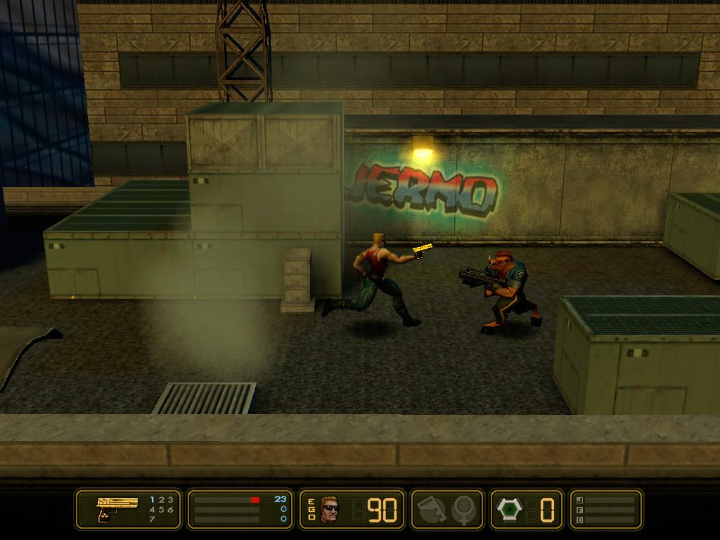 duke nukem manhattan project Duke nukem: manhattan project is a side-scrolling run and gun computer game developed by sunstorm interactive.