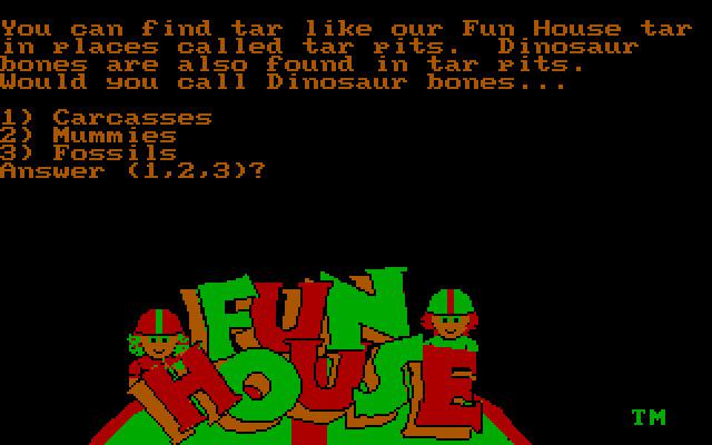 Fun House (1989 - DOS)  Ссылки, описание, обзоры, скриншоты