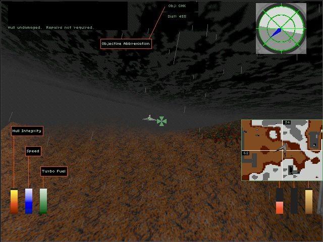 Hellbender (1996 - Windows)  Ссылки, описание, обзоры, скриншоты