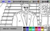 [Скриншот: Home Alone: The Computerized Coloring Book]