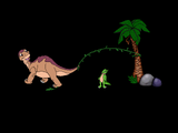 [Скриншот: The Land Before Time: Animated Movie Book]