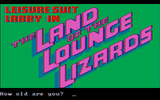 [Leisure Suit Larry in the Land of the Lounge Lizards - скриншот №21]