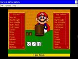 Mario's Game Gallery
