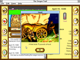 [Скриншот: The Oregon Trail]