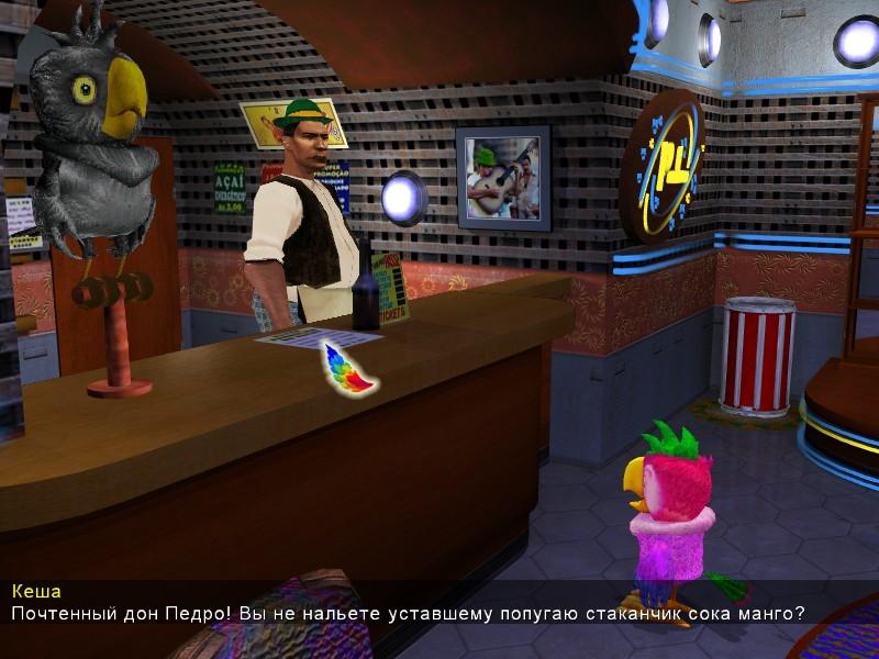 Игра Попугай Кеша. Свободу попугаям!