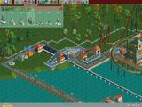 [RollerCoaster Tycoon Deluxe - скриншот №7]