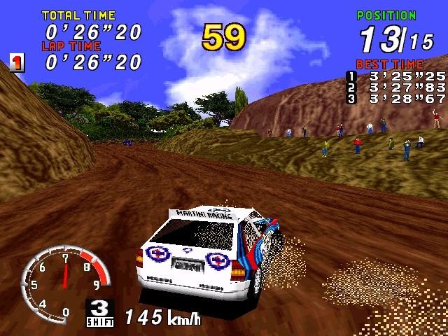 Sega rally championship 1997 windows . Ссылки описание обзоры