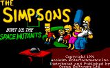 [Скриншот: The Simpsons: Bart vs. the Space Mutants]