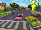 [Скриншот: The Simpsons: Hit & Run]