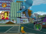 [The Simpsons: Hit & Run - скриншот №39]