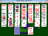 [Скриншот: Solitaire Deluxe]