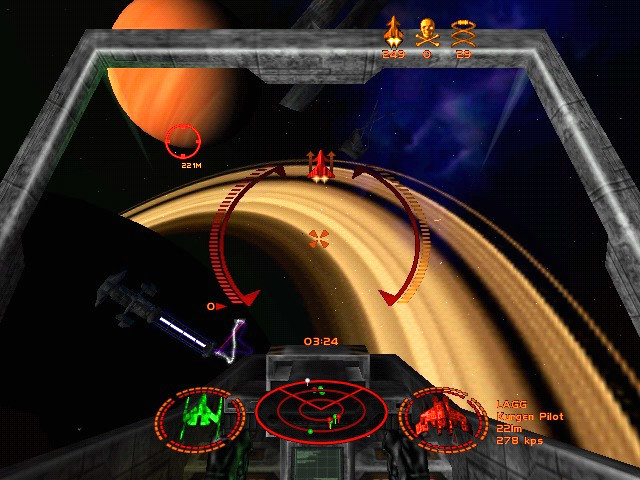 Starlancer - скриншот 2.