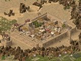 [Скриншот: Stronghold Crusader]