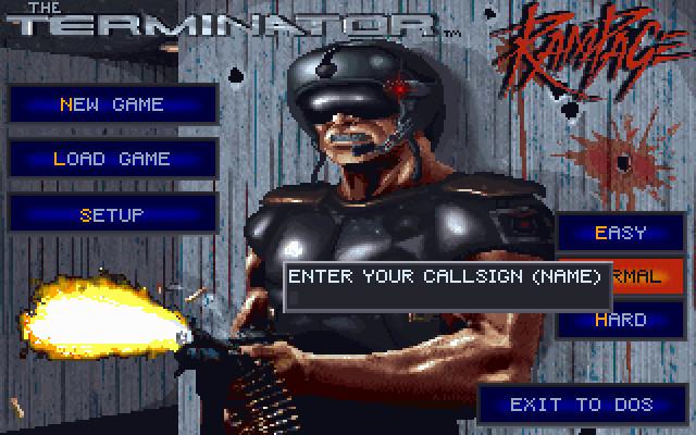 Скриншоты The Terminator: Rampage на Old-Games RU