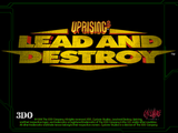 [Скриншот: Uprising 2: Lead and Destroy]