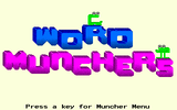 [Скриншот: Word Munchers]