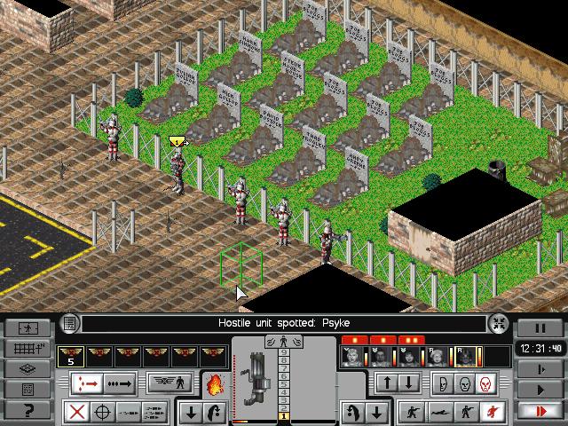 Скриншоты X-COM: Apocalypse на Old-