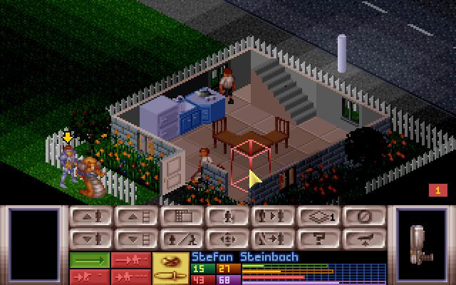 Скриншоты X-COM: UFO Defense на Old-